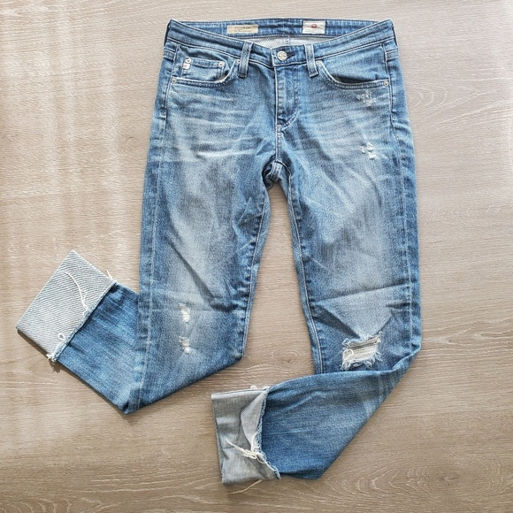 Ag Adriano Goldschmied Denim - AG Adriano Goldschmied The Stevie Cuff Size 27